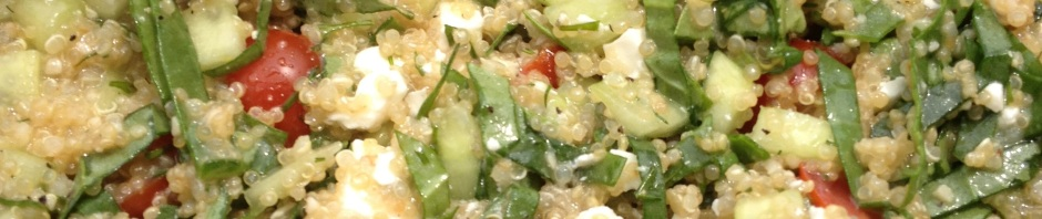 Greek Quinoa Salad: LittleCajunGirl.com