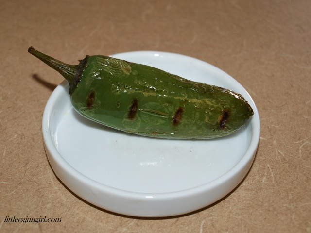 How to Roast a Jalapeno Pepper: LittleCajunGirl.com