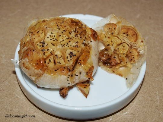 How to Roast Garlic: LittleCajunGirl.com