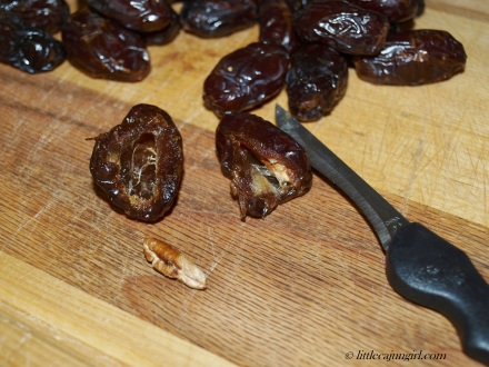 Bacon-wrapped Stuffed Dates: LittleCajunGirl.com